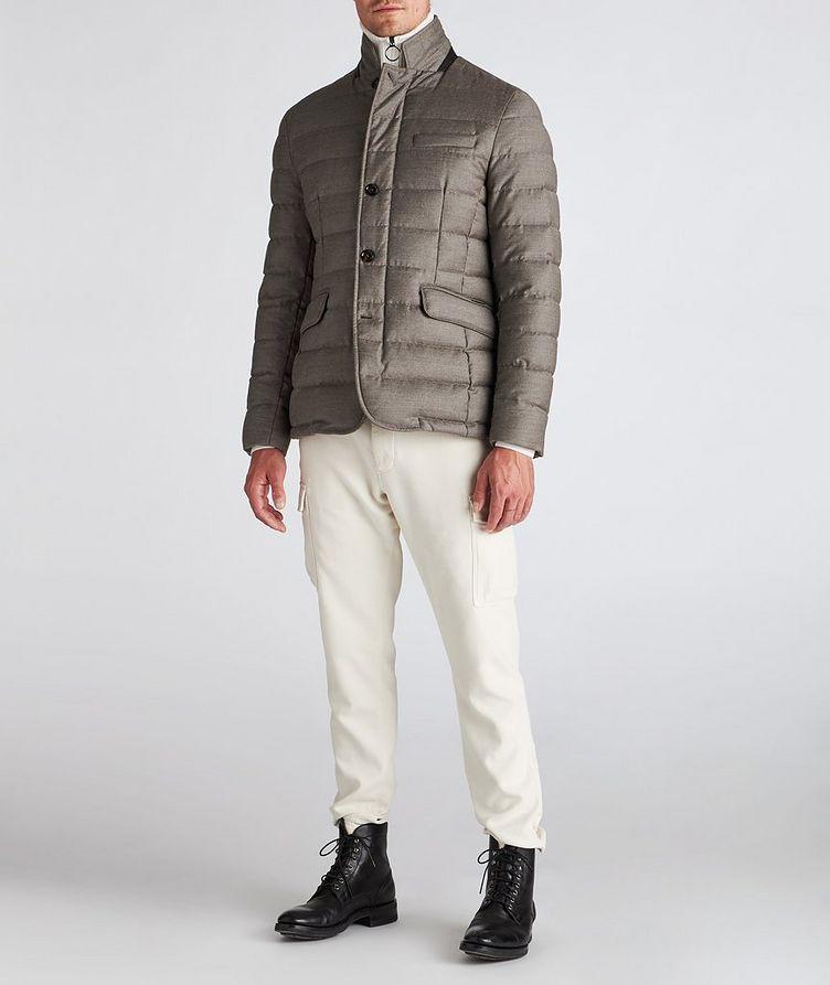 Zayn Wool-Cashmere Down Jacket image 4