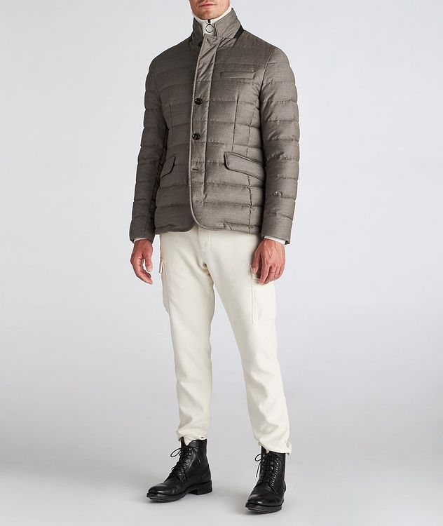 Zayn Wool-Cashmere Down Jacket picture 5