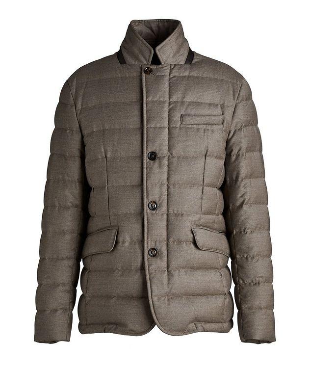 Zayn Wool-Cashmere Down Jacket picture 1