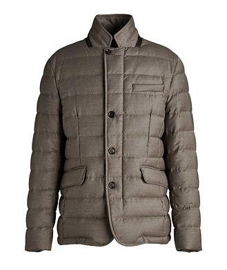Moorer Zayn Wool-Cashmere Down Jacket