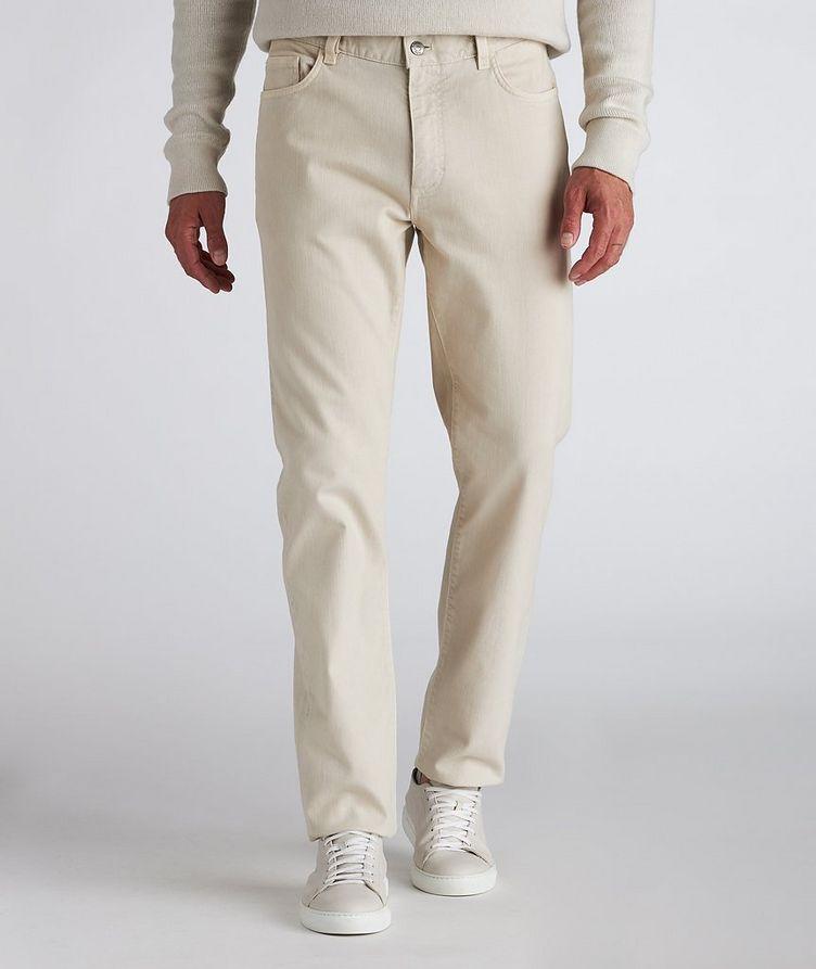 Stretch-Cotton-Blend Jeans image 1
