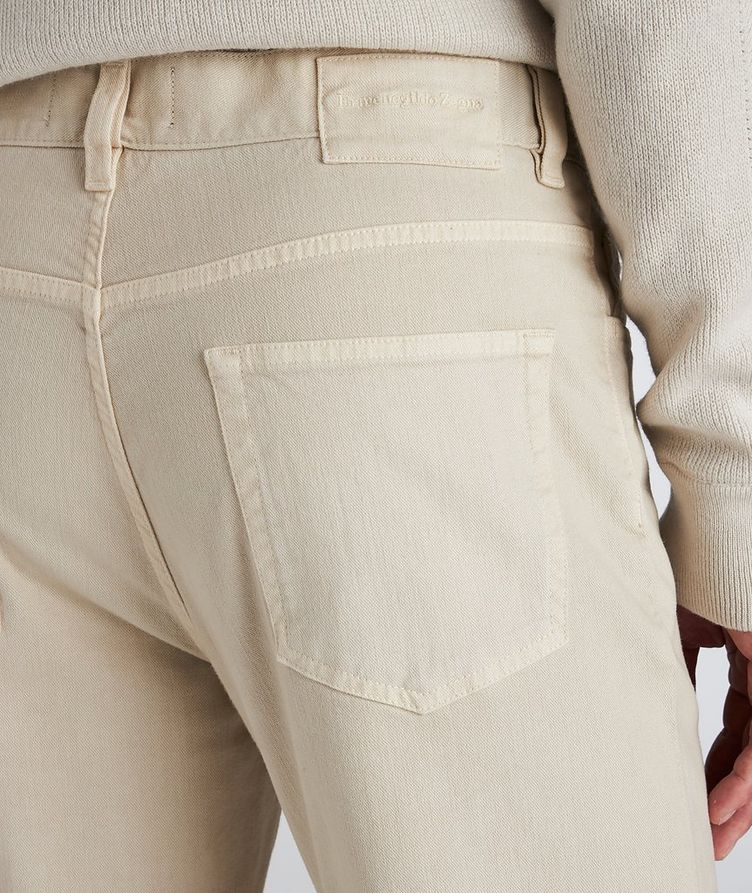 Stretch-Cotton-Blend Jeans image 3