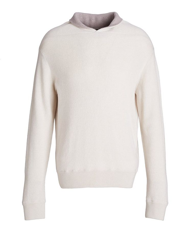 Pure Cashmere Knit Sweater image 0