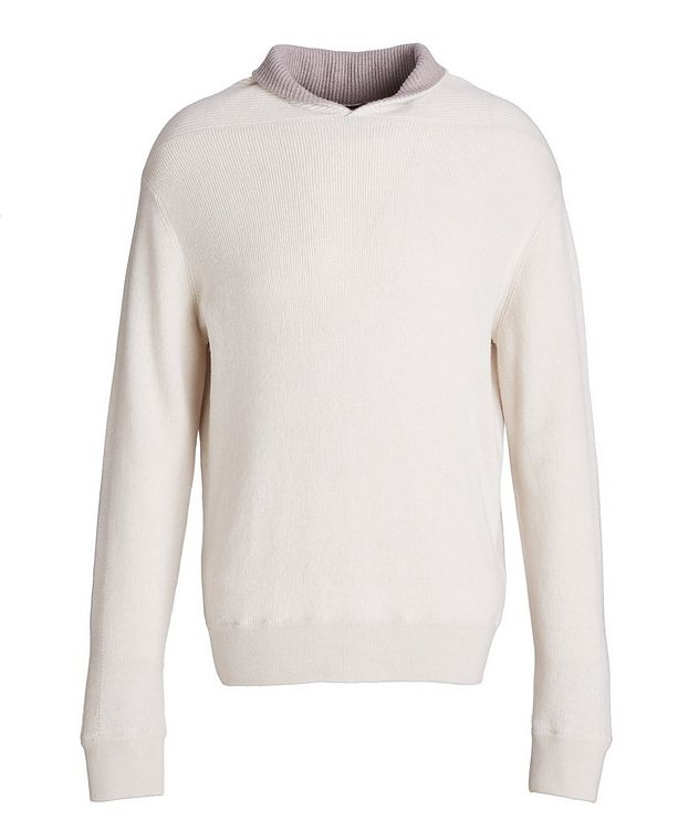 Pure Cashmere Knit Sweater picture 1