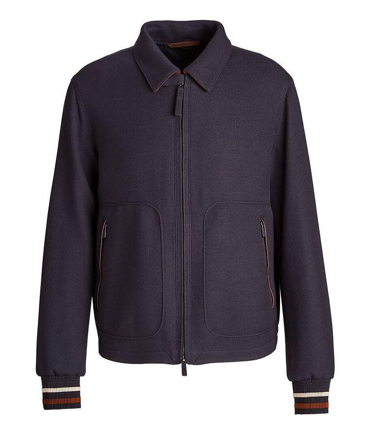 Achillfarm Wool Blouson Jacket image 0