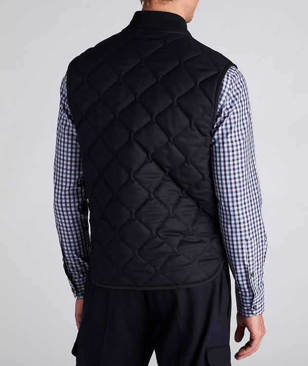Quilted Flannel Wool Vest picture 3