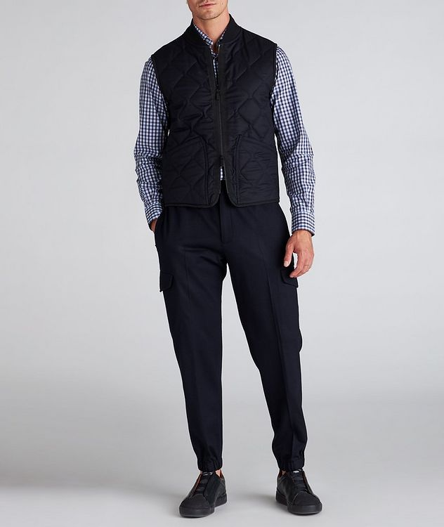 Quilted Flannel Wool Vest picture 5