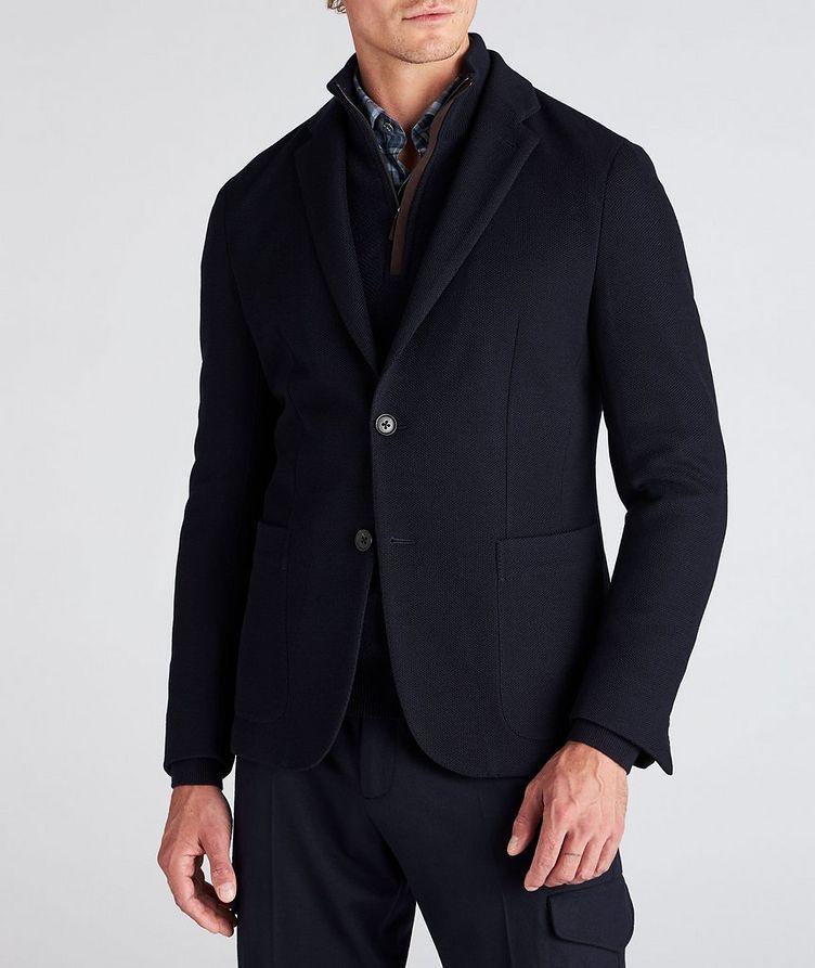 High Performance Jerseywear Wool-Cotton Sports Jacket image 1