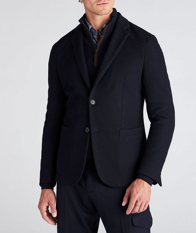 High Performance Jerseywear Wool-Cotton Sports Jacket picture 2