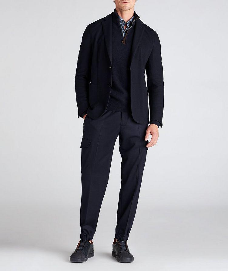 High Performance Jerseywear Wool-Cotton Sports Jacket image 4