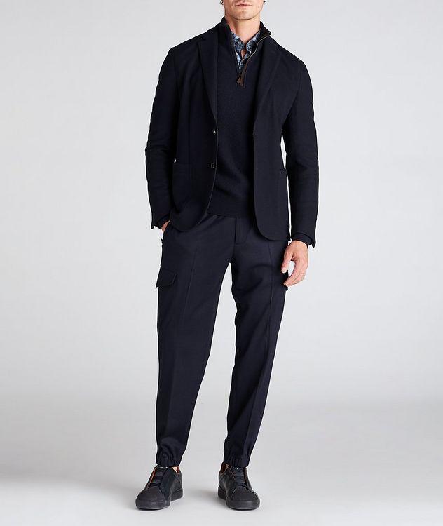 High Performance Jerseywear Wool-Cotton Sports Jacket picture 5