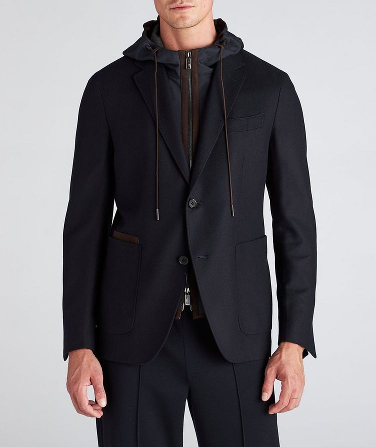 Trofeo Cashmere Detachable Bib Wool Sports Jacket image 1
