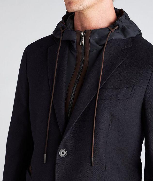 Trofeo Cashmere Detachable Bib Wool Sports Jacket picture 4