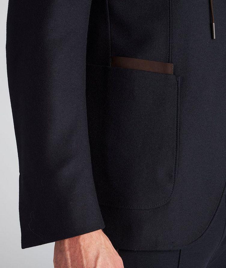 Trofeo Cashmere Detachable Bib Wool Sports Jacket image 5