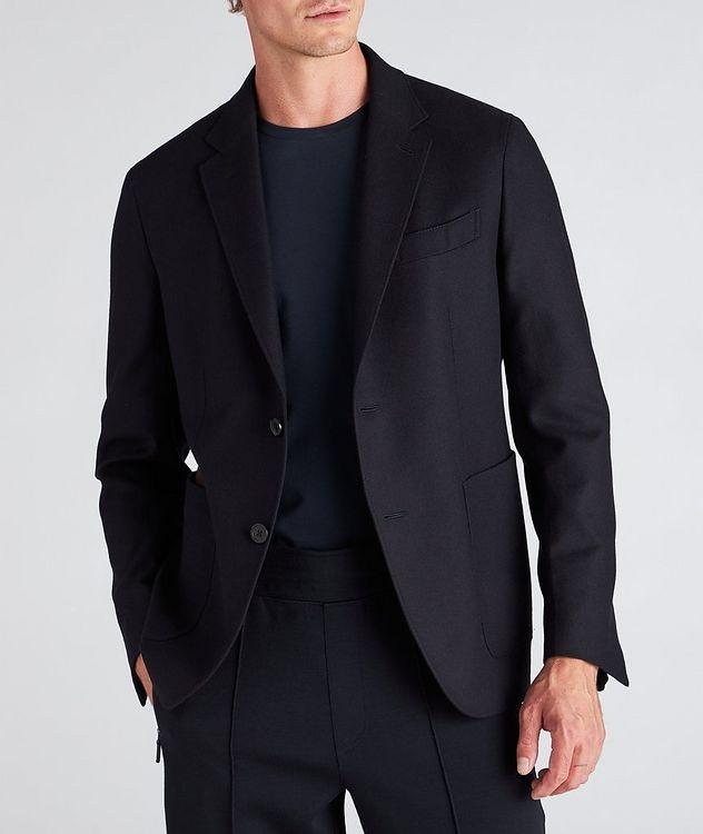 Trofeo Cashmere Detachable Bib Wool Sports Jacket picture 7