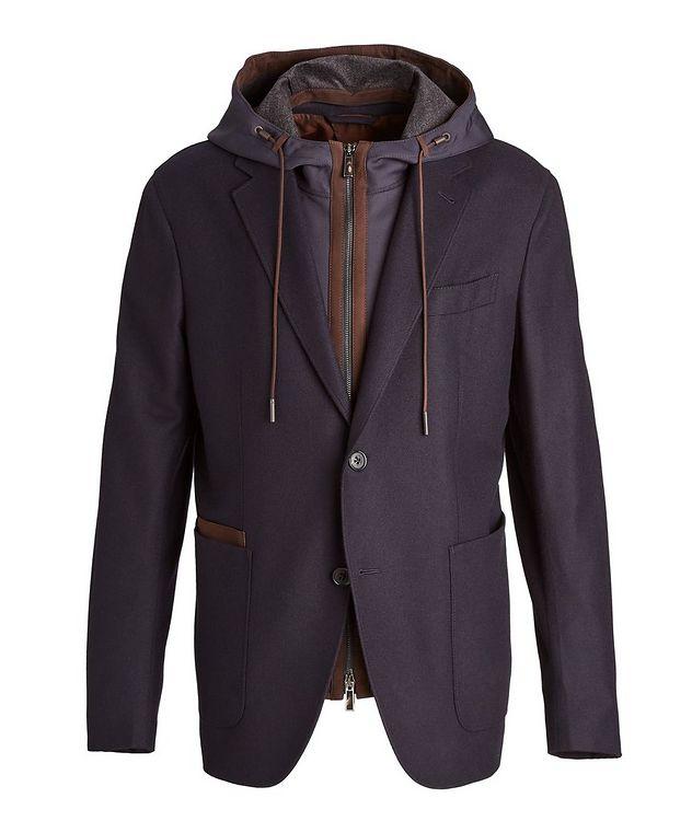 Trofeo Cashmere Detachable Bib Wool Sports Jacket picture 1