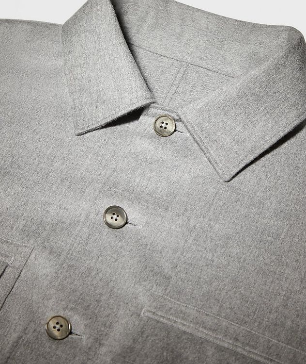 Ultra-Light Cashmere Overshirt picture 3