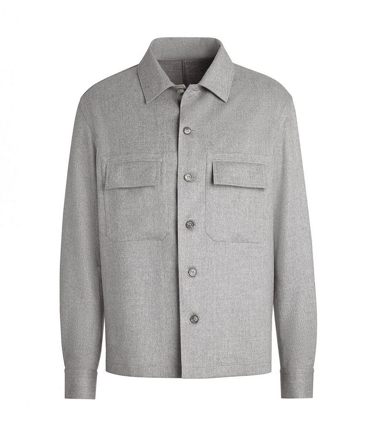 Ultra-Light Cashmere Overshirt image 0