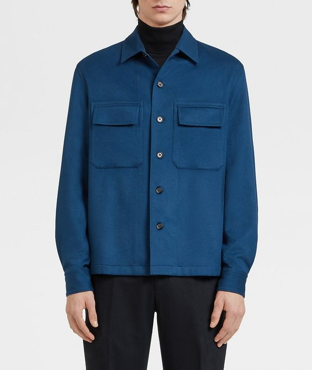 Ultra-Light Cashmere Overshirt picture 2