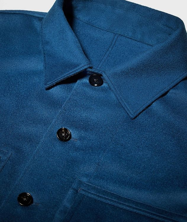 Ultra-Light Cashmere Overshirt picture 4