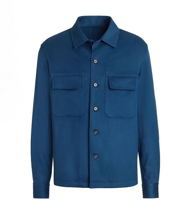 Ultra-Light Cashmere Overshirt picture 1