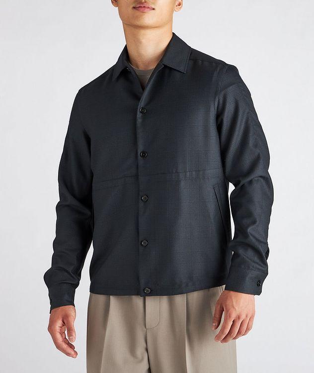 Achillfarm Wool-Silk Blouson Sports Jacket picture 2