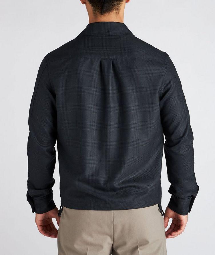 Achillfarm Wool-Silk Blouson Sports Jacket image 2