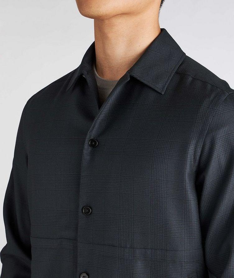 Achillfarm Wool-Silk Blouson Sports Jacket image 3