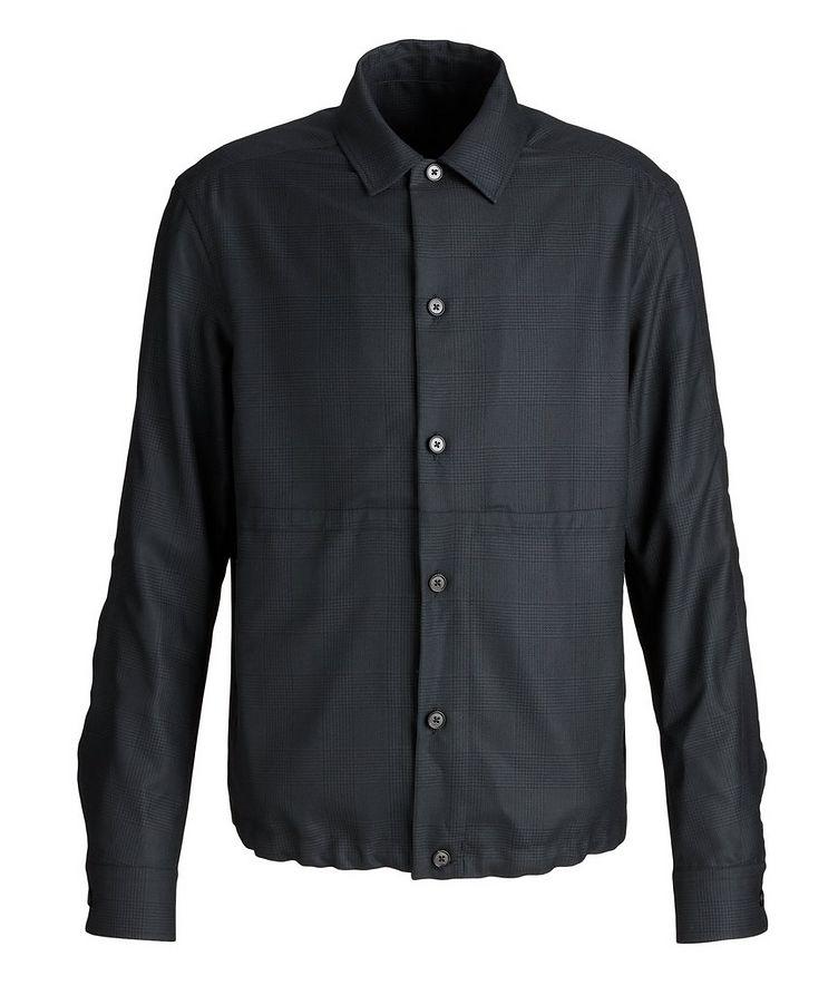 Achillfarm Wool-Silk Blouson Sports Jacket image 0