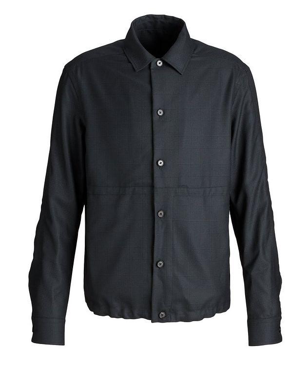 Achillfarm Wool-Silk Blouson Sports Jacket picture 1