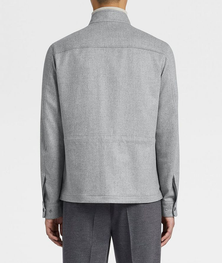 Water-Repellent Cashmere Field Jacket image 2