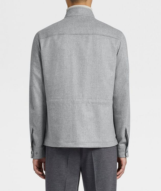 Water-Repellent Cashmere Field Jacket picture 3