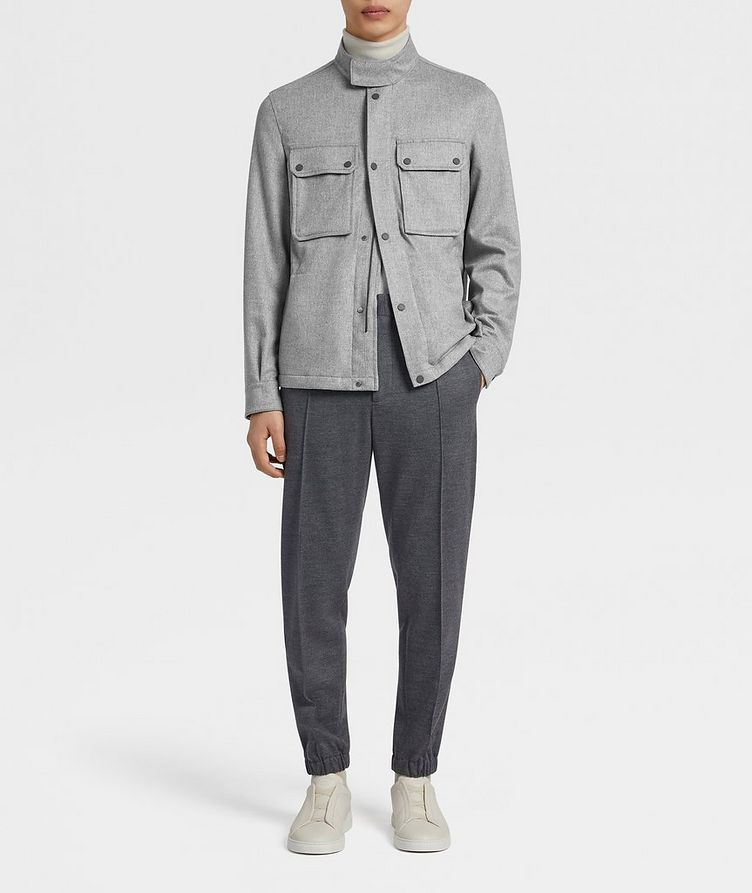 Water-Repellent Cashmere Field Jacket image 4