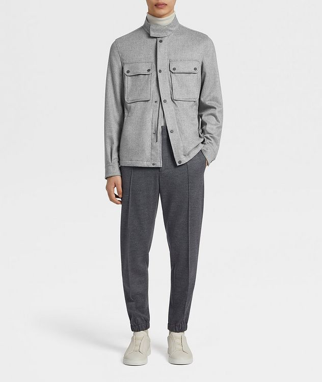 Water-Repellent Cashmere Field Jacket picture 5