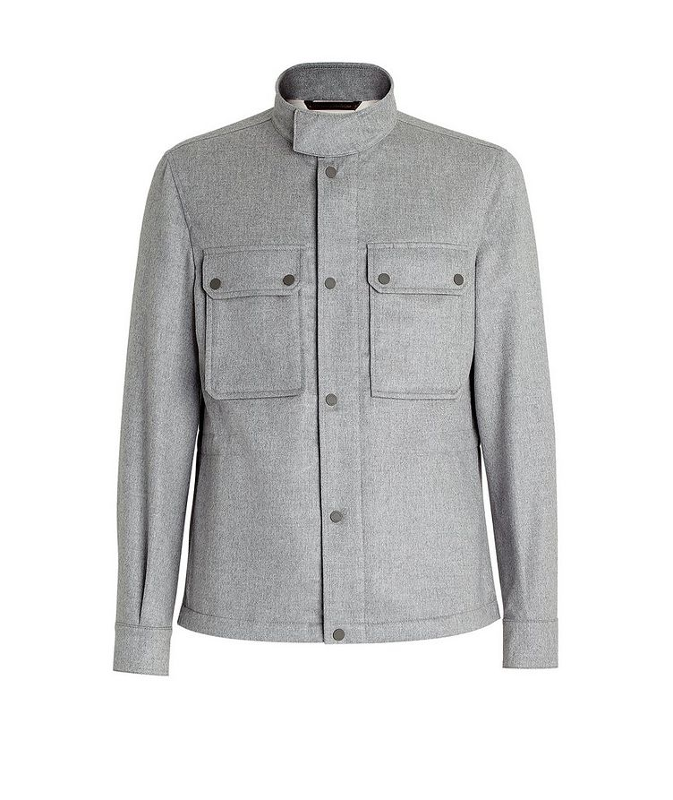 Water-Repellent Cashmere Field Jacket image 0