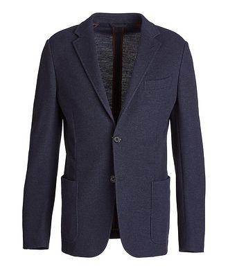 Ermenegildo Zegna Jerseywear Cotton-Wool Sports Jacket