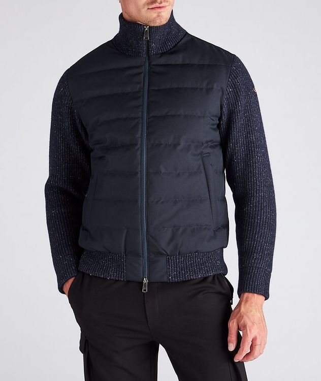 Typhoon 2000 Hybrid Knit Down Jacket picture 4