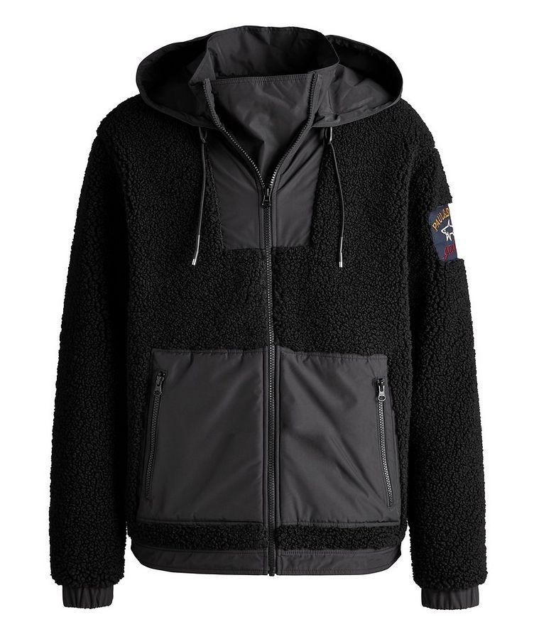 Water-Resistant Zip-Up Fleece Hoodie image 0