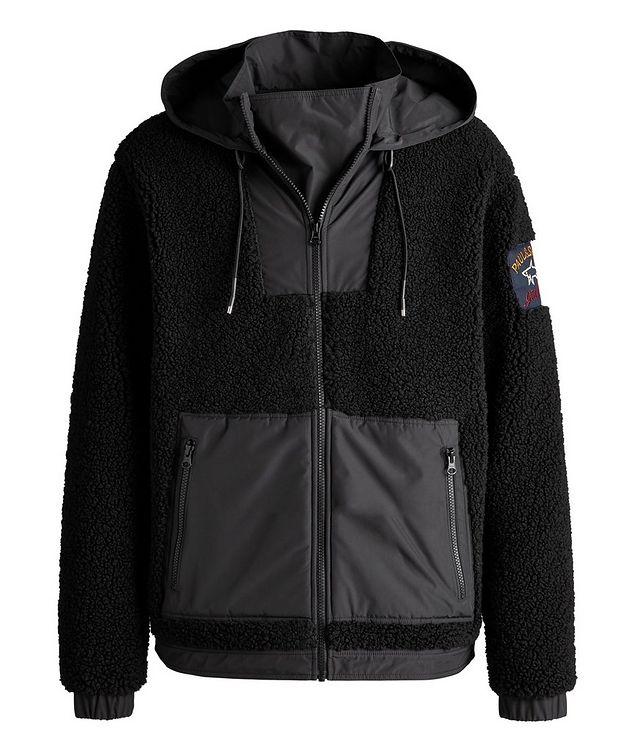Water-Resistant Zip-Up Fleece Hoodie picture 1