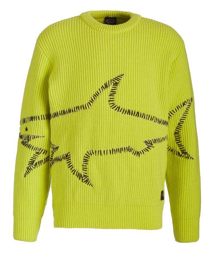 Merino Wool Graphic Sweater image 0