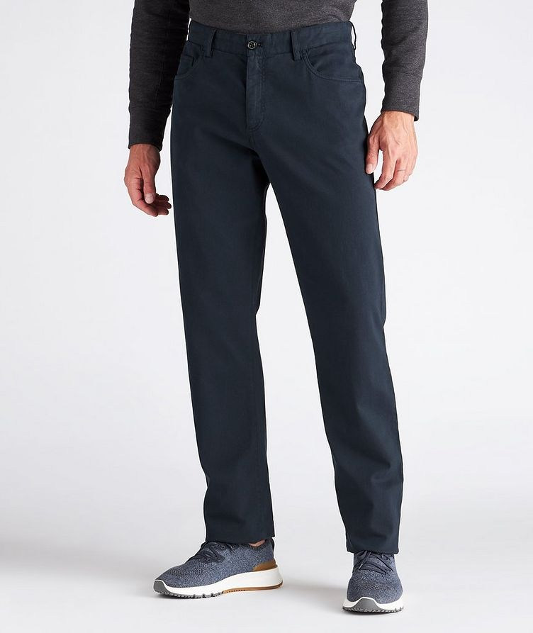 Cotton-Blend Chinos image 1