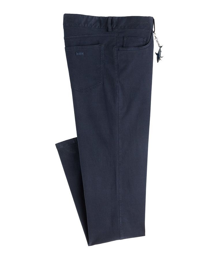 Cotton-Blend Chinos image 0