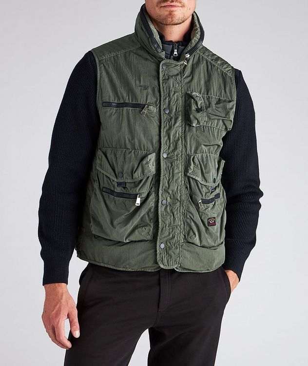 Scoop Hooded Utility Vest picture 2