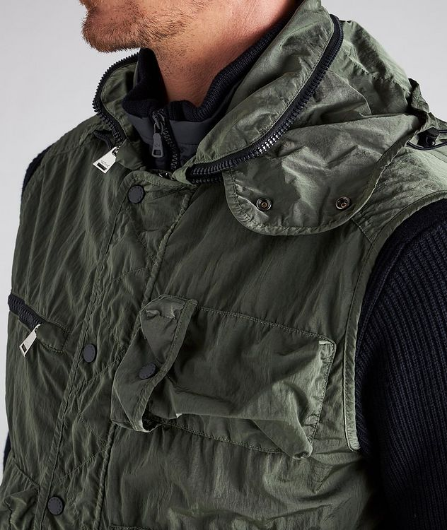 Scoop Hooded Utility Vest picture 4