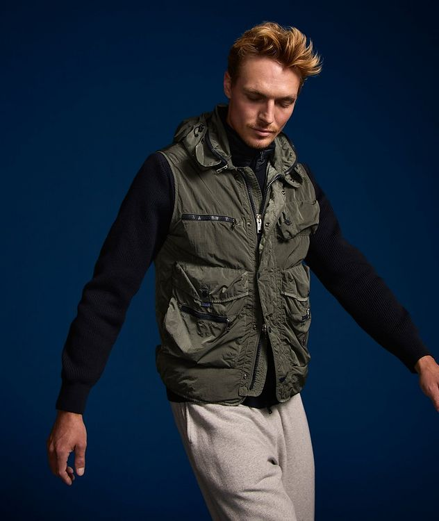 Scoop Hooded Utility Vest picture 5