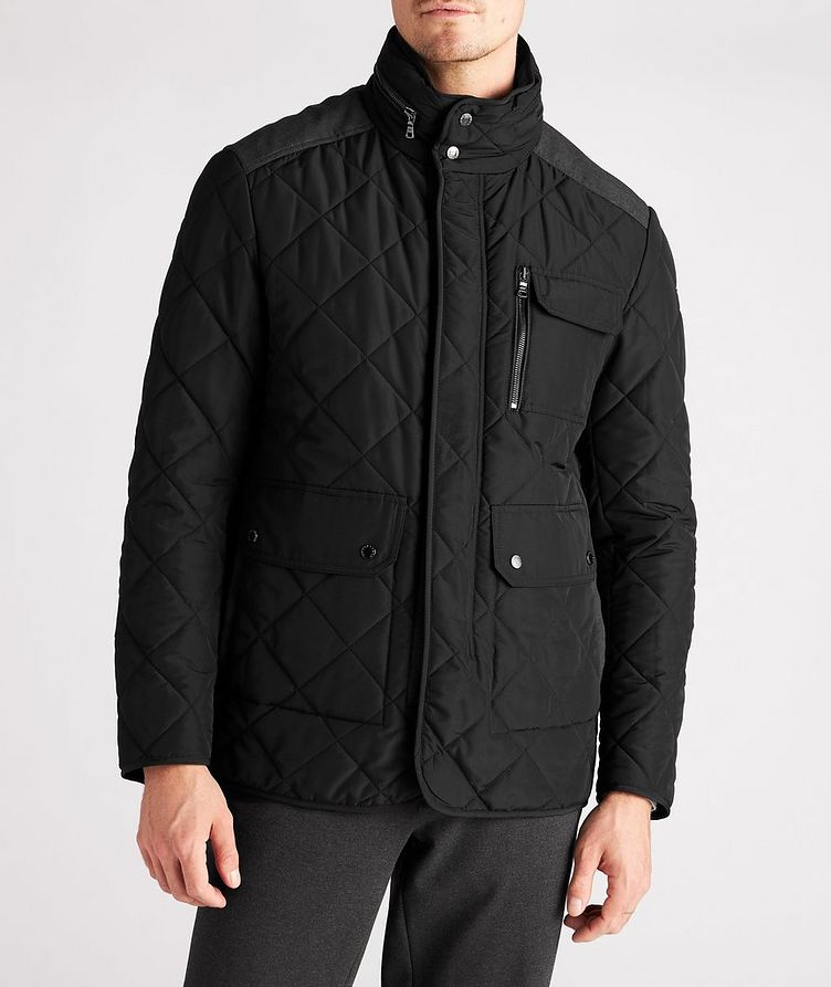 Technical Quilted Field Jacket image 1