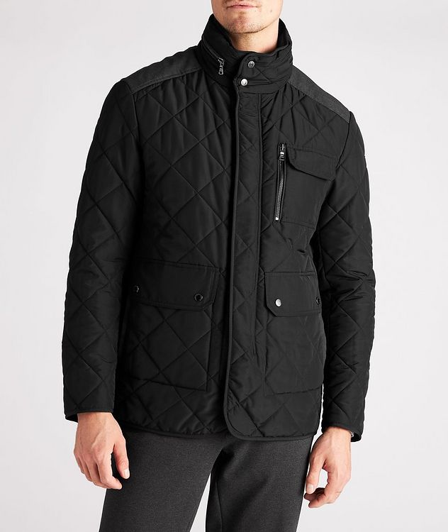 Technical Quilted Field Jacket picture 2