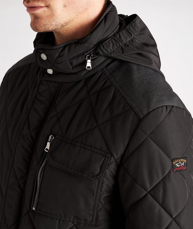 Technical Quilted Field Jacket picture 4