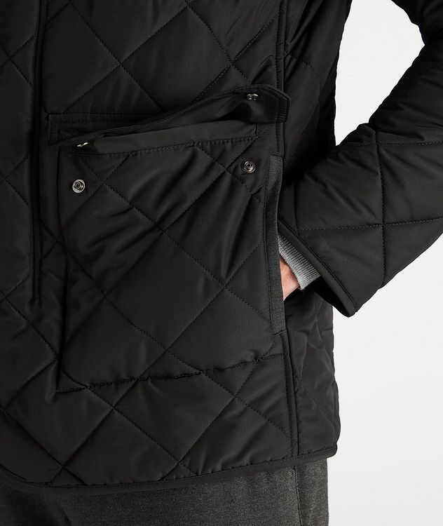 Technical Quilted Field Jacket picture 5