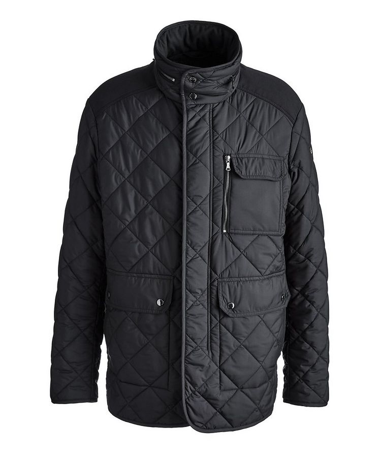 Technical Quilted Field Jacket image 0